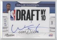 Willie Warren /399