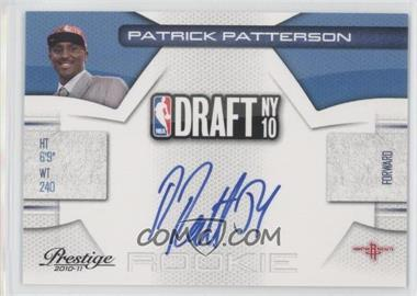 2010-11 Prestige - NBA Draft Class - Signatures [Autographed] #14 - Patrick Patterson /299