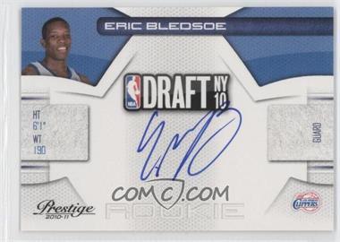 2010-11 Prestige - NBA Draft Class - Signatures [Autographed] #18 - Eric Bledsoe /297