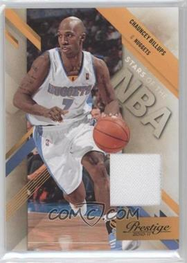 2010-11 Prestige - Stars of the NBA - Materials [Memorabilia] #14 - Chauncey Billups /249