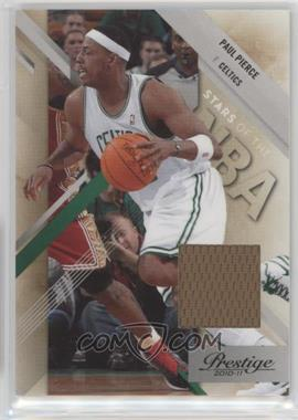 2010-11 Prestige - Stars of the NBA - Materials [Memorabilia] #5 - Paul Pierce /249