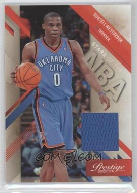 2010-11 Prestige - Stars of the NBA - Materials [Memorabilia] #6 - Russell Westbrook /99
