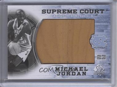 2010-11 SP Authentic - Michael Jordan Supreme Court #MJ-7 - Michael Jordan