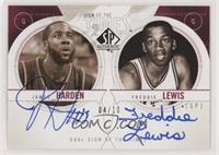 James Harden, Freddie Lewis #/10