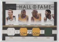 Larry Bird, Magic Johnson, Kareem Abdul-Jabbar, Robert Parish /50