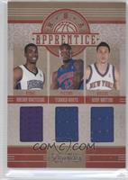 Hassan Whiteside, Terrico White, Andy Rautins #/99