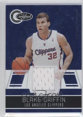 2010-11 Totally Certified - [Base] - Totally Blue Materials [Memorabilia] #29 - Blake Griffin /99