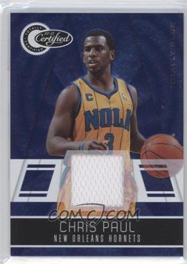 2010-11 Totally Certified - [Base] - Totally Blue Materials [Memorabilia] #49 - Chris Paul /99