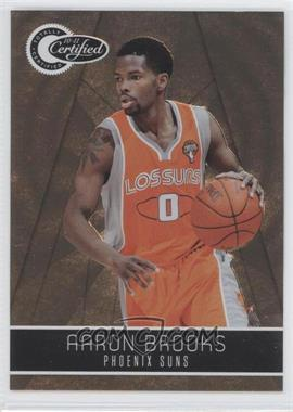 2010-11 Totally Certified - [Base] - Totally Gold #124 - Aaron Brooks /25