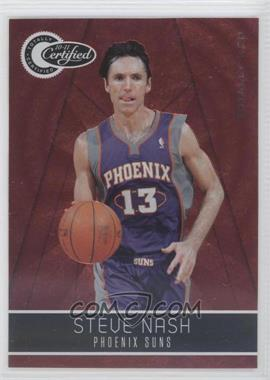 2010-11 Totally Certified - [Base] - Totally Red #121 - Steve Nash /499