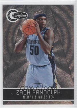 2010-11 Totally Certified - [Base] #36 - Zach Randolph /1849