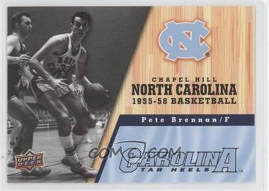 2010-11 UD North Carolina Basketball - [Base] #11 - Pete Brennan