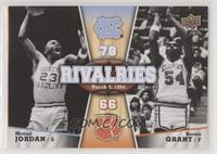 Rivalries March 9, 1984 (Horace Grant, Michael Jordan)