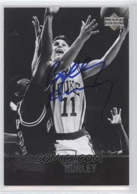 2010 Ultimate Collection - 1997 Legends Autographs - [Autographed] #AL-19 - Bobby Hurley