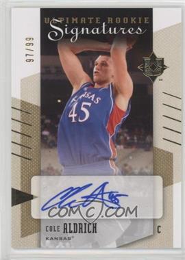 2010 Ultimate Collection - [Base] #66 - Rookie Signatures - Cole Aldrich /99