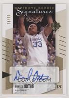 Rookie Signatures - Daniel Orton #/99