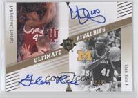 Glen Rice, Calbert Cheaney /25