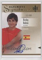 Ricky Rubio #/99