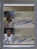 LeBron James, Derrick Rose #/23
