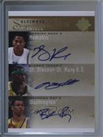 Brandon Roy, Derrick Rose, LeBron James #/25