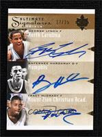 Anfernee Hardaway, George Lynch, Tracy McGrady #/25