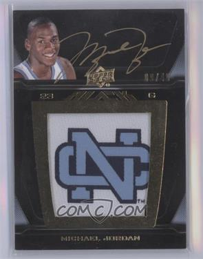 2011-12 Exquisite Collection - UD Black - College Logo Auto #L-JO - Michael Jordan /40 [Near Mint‑Mint+]