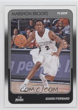 2011-12 Fleer Retro - 1988-89 Design #88-88 - MarShon Brooks