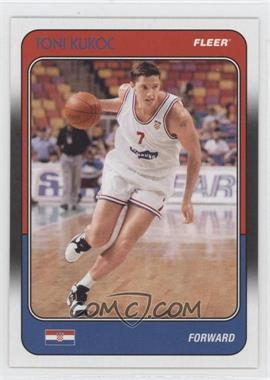 2011-12 Fleer Retro - 1988-89 Design #88-TK - Toni Kukoc
