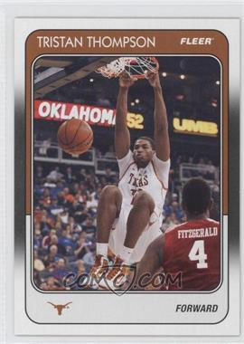 2011-12 Fleer Retro - 1988-89 Design #88-TT - Tristan Thompson