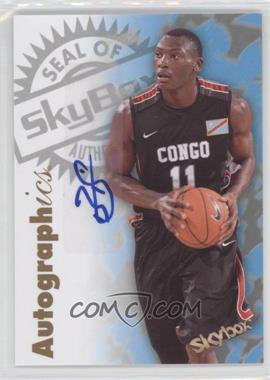2011-12 Fleer Retro - 1997-98 Autographics Design Autographs #97AU-BB - Bismack Biyombo