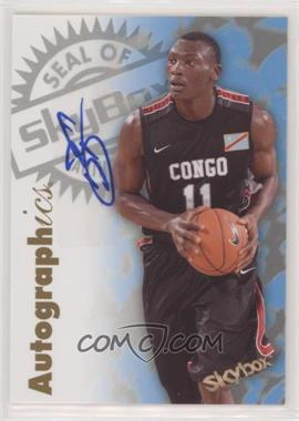 2011-12 Fleer Retro - 1997-98 Autographics Design Autographs #97AU-BB - Bismack Biyombo