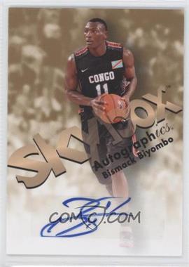 2011-12 Fleer Retro - 1998-99 Autographics Design Autographs #98AU-BB - Bismack Biyombo