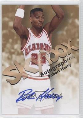 2011-12 Fleer Retro - 1998-99 Autographics Design Autographs #98AU-RH - Robert Horry