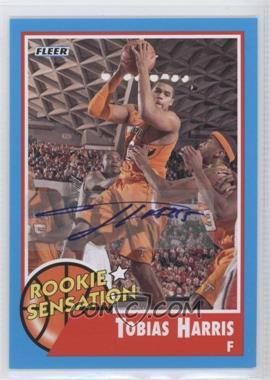 2011-12 Fleer Retro - [Base] - Autographs [Autographed] #62 - Tobias Harris