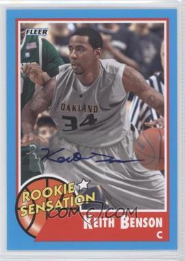 2011-12 Fleer Retro - [Base] - Autographs [Autographed] #79 - Keith Benson