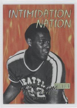 2011-12 Fleer Retro - Intimidation Nation #17 IN - Elgin Baylor