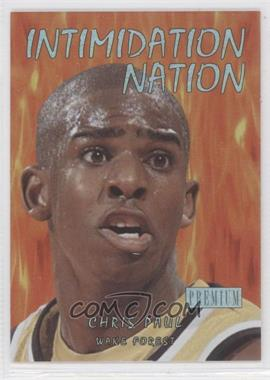 2011-12 Fleer Retro - Intimidation Nation #24 IN - Chris Paul