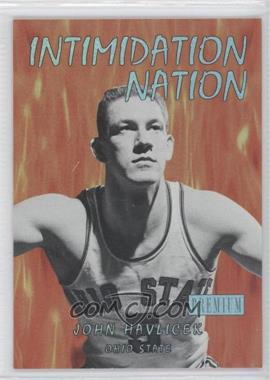 2011-12 Fleer Retro - Intimidation Nation #29 IN - John Havlicek