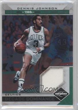 2011-12 Limited - Decade Dominance - Materials [Memorabilia] #4 - Dennis Johnson /99