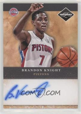2011-12 Limited - Draft Pick Redemptions Autographs #13 - Brandon Knight