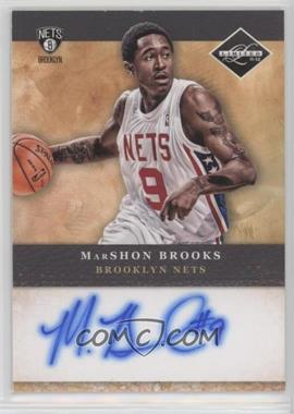 2011-12 Limited - Draft Pick Redemptions Autographs #3 - MarShon Brooks