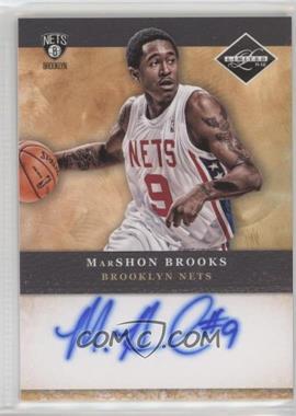 2011-12 Limited - Draft Pick Redemptions Autographs #3 - MarShon Brooks