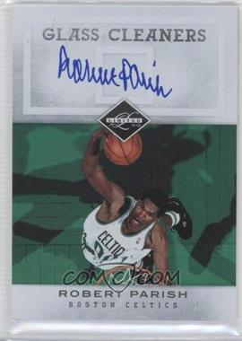 2011-12 Limited - Glass Cleaners - Signatures [Autographed] #11 - Robert Parish /99