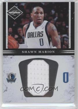 2011-12 Limited - Jumbo Materials - Jersey Number #4 - Shawn Marion /99