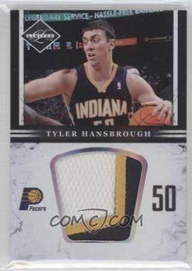 2011-12 Limited - Jumbo Materials - Prime #30 - Tyler Hansbrough /10