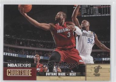 2011-12 NBA Hoops - Courtside #10 - Dwyane Wade