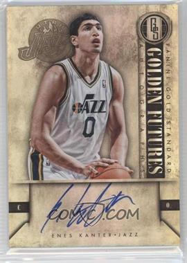 2011-12 Panini Gold Standard - Golden Futures Autographs #EK - Enes Kanter