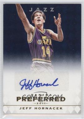 2011-12 Panini Preferred - [Base] - Blue [Autographed] #59 - Jeff Hornacek /10
