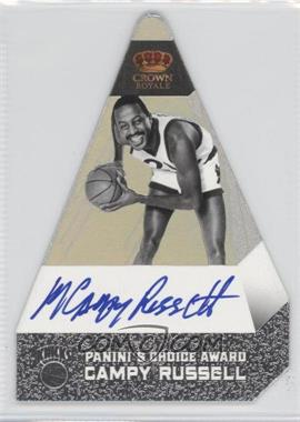 2011-12 Panini Preferred - [Base] - Panini's Choice Silver Signatures [Autographed] #123 - Campy Russell /25