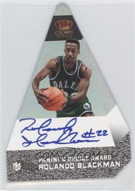 2011-12 Panini Preferred - [Base] - Panini's Choice Silver Signatures [Autographed] #185 - Rolando Blackman /25